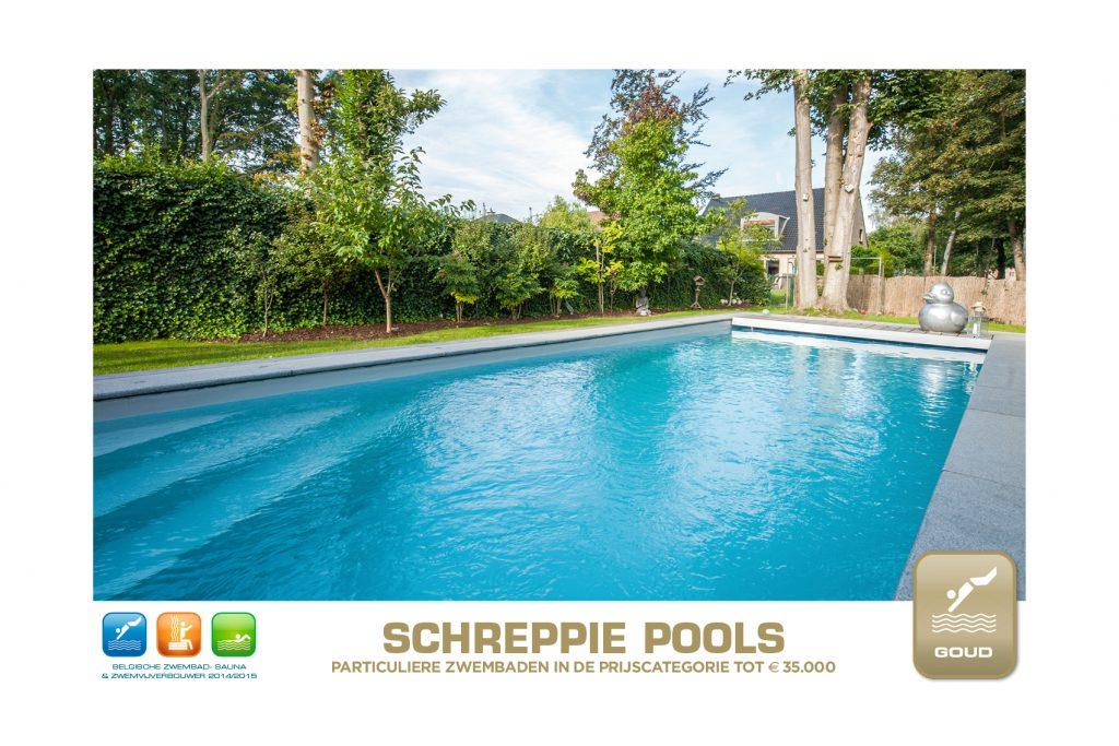 Wedstrijd zwembadenplus 2014 tot 35000 Goud