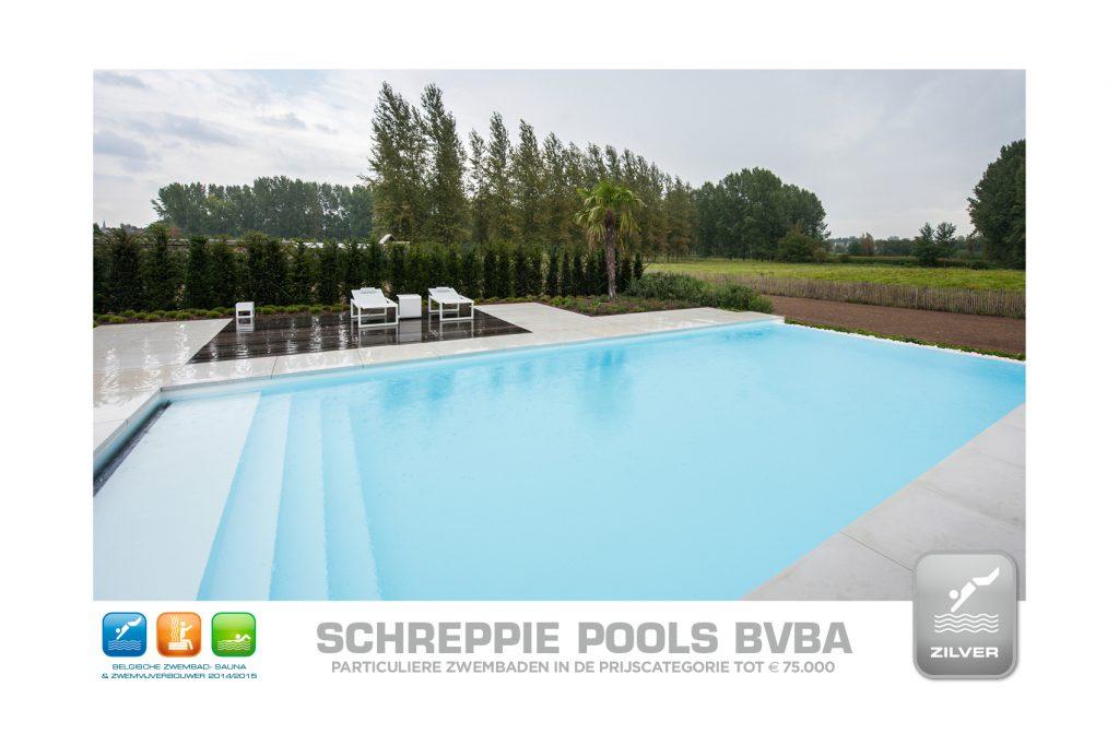 Wedstrijd zwembadenplus 2014 tot 75000 Zilver