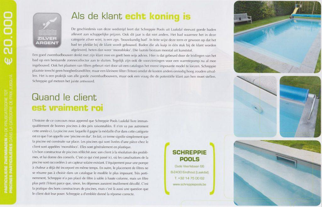 Zwembadenplus wedstrijd 2010